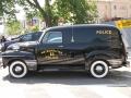 restored 1950 Chevy patrol wagon
