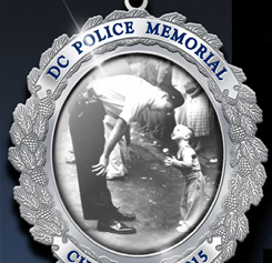 2015 Memorial Christmas Ornament by the DC Police Memorial & Museum
