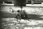 Photo Rescue and Police efforts Jan 13, 1982, Flight 90 crash into 14th Street Bridge and Potomac River, photo courtesy MPD photo archive